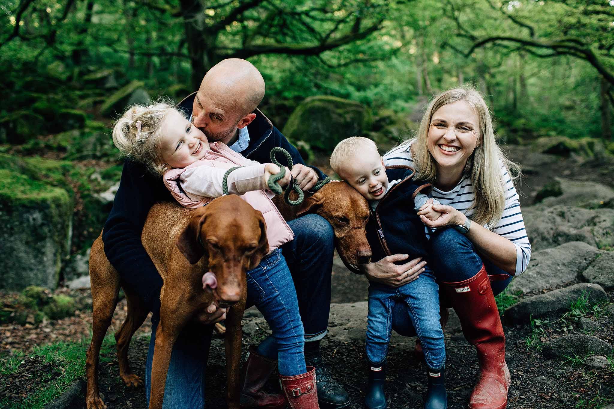 Peak district family photographer
