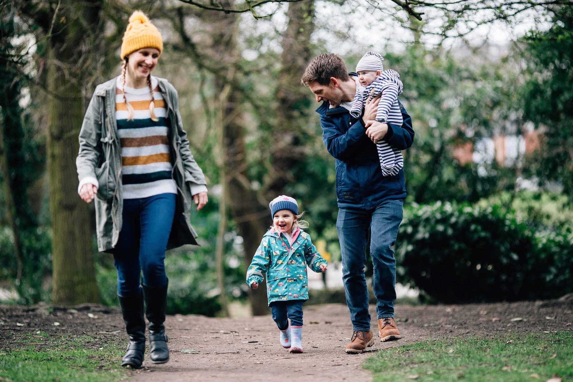 family photos Sheffield