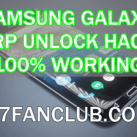How To Unlock Galaxy S7, S8 FRP Lock - Nougat 7.0 - Video Guide 2017?