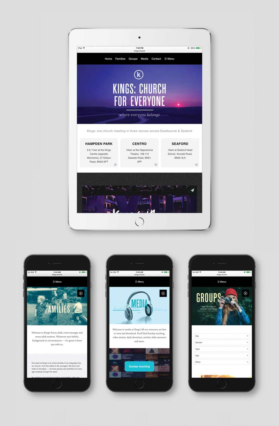 Kings Church Website