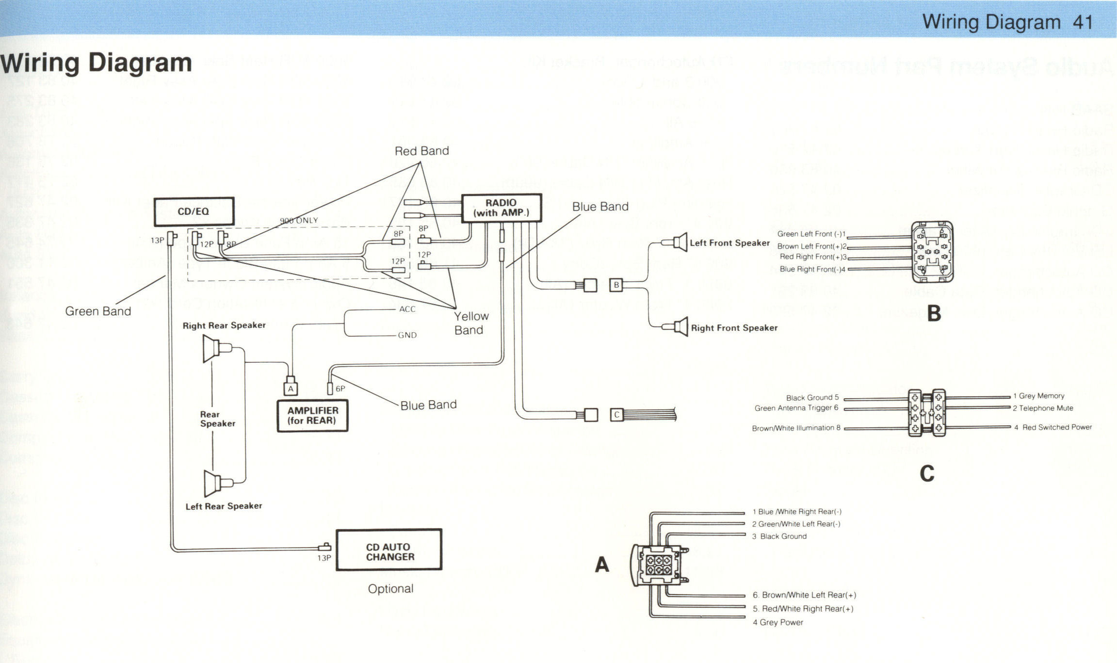 Clarion Xmd3 Installation Manual Wiring Diagram