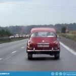 Saab spotting: MonteCarlo in Denmark.