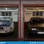 Parking garages under every room.