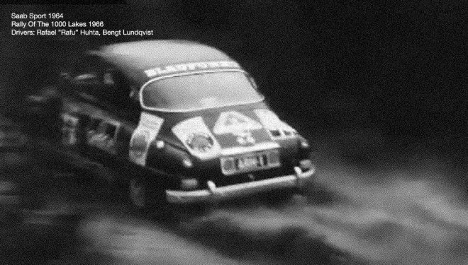 Saab Sport - Rally Of The 1000 Lakes 1966