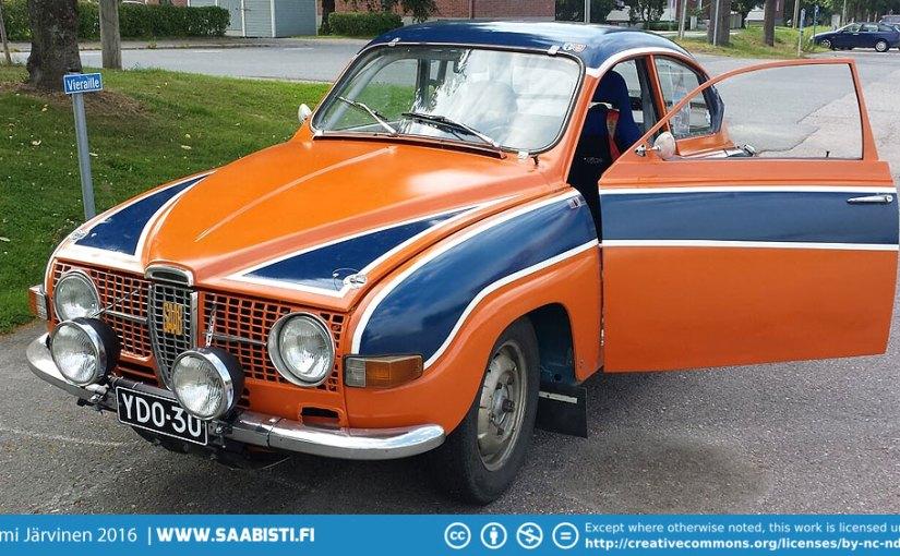 1969 Saab 96 V4 Rally car