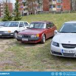 And more Saab 9-5 with the older generation...
