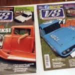 V8 Magazine 7 ja 8 2005. 2 € / kpl.