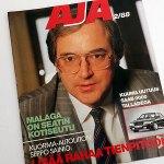 AJA 2 1988. MYYTY