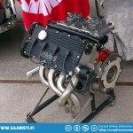 Saab 99 16-valve racing engine. Not cheap...