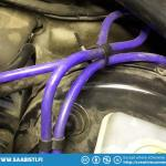I replaced all the old vacuum lines with some new silicon lines. Yep - ugly colour but I got it free...
