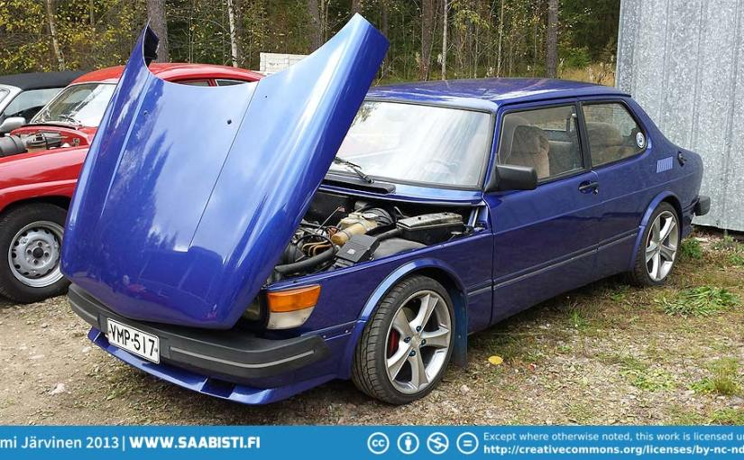 Saab Club Finland Swap Meet 2013
