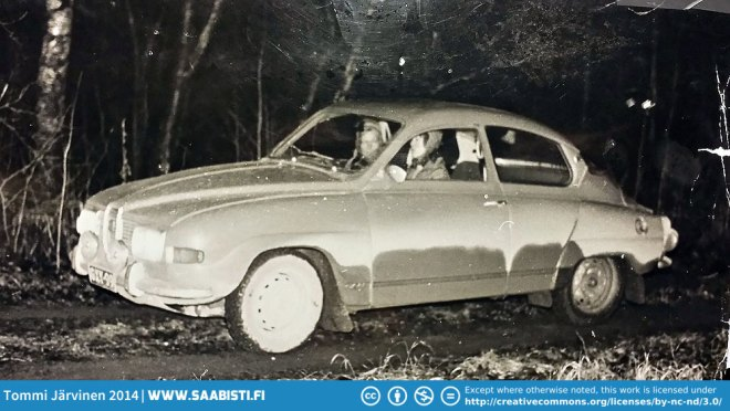 Mikko's mother Hillka Parikka was a co-driver for Maj-Brit Råback. They competed in car orienteering with a Saab 96, winning the Ladies Cup in 1976, but also other top positions through the years.