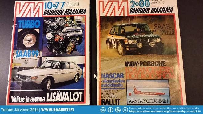 Saab 99 Turbo related magazine articles