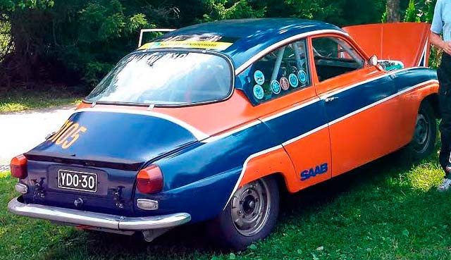 Saab 96 Rally for Sale