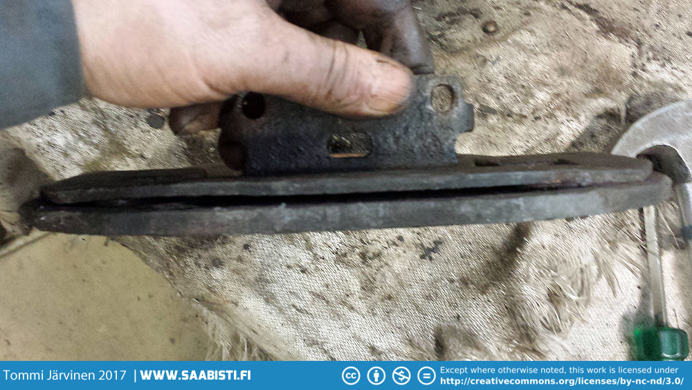 It's pretty common for rust to form between the frame components and there is really no other way than drilling the pieces out and re-welding.