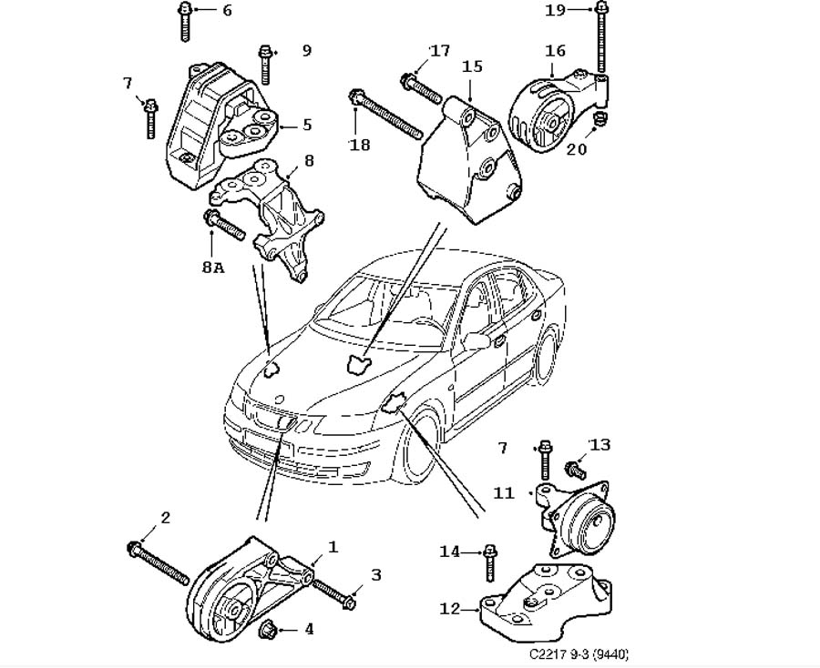 Diagram Geo Metro Engine Mount Diagram File Ie45814