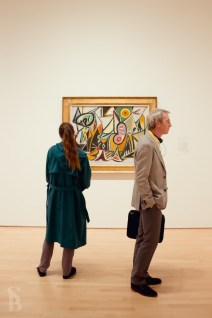 People Looking At Modern Art, Saaleha Idrees Bamjee (2012)