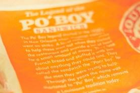 Po'Boy history at Popeyes