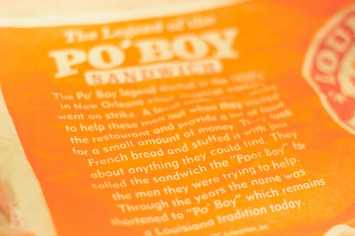 Po'Boy history at Popeyes