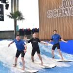 Jochen Schweizer Und Saalfelden Leogang Auf Einer Welle