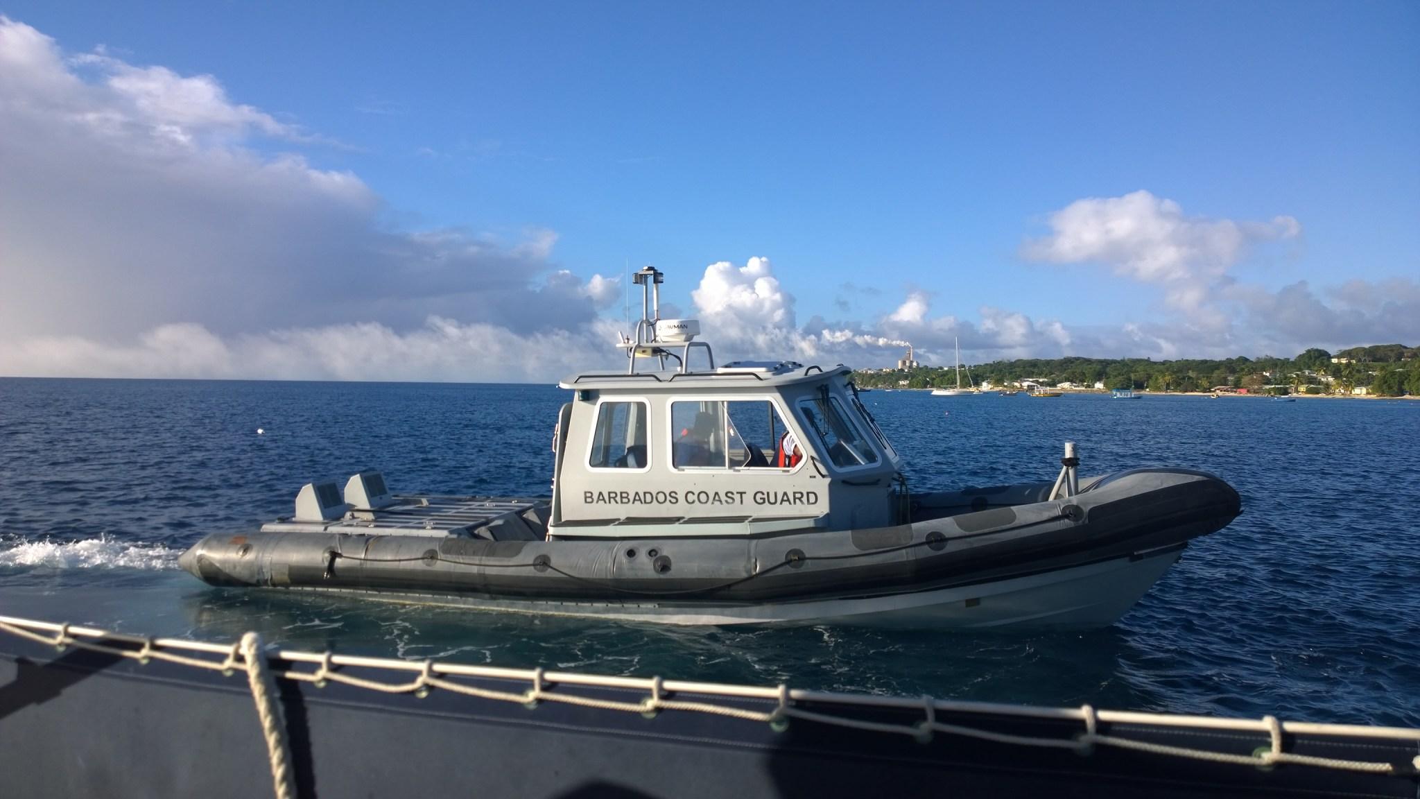 Rannikkivartiosto tsekkasi veneet ainakin kaksi kertaa kolmen viikon aikana. Missään muualla ei rannikkovartiostoa ole pahemmin näkynyt.