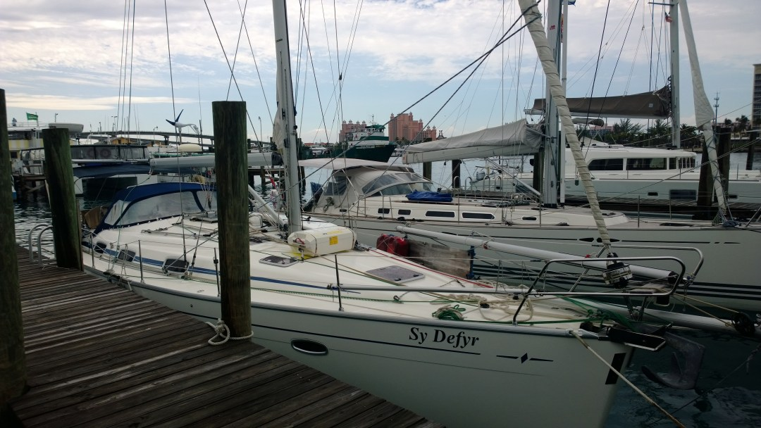 Defyr satamassa Nassaussa.