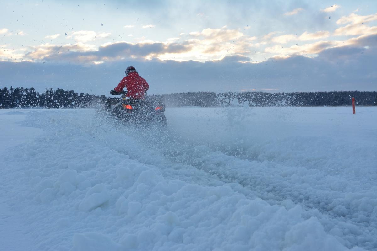 Lumen siirtäminen alkoi hiljalleen muuttua vähän vauhdikkaammaksi.