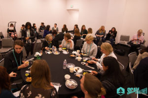 Attendees joined us for a Ladies Lunch networking event during SaaStr Annual 2017.