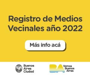 Registro Medios Vecinales 2022