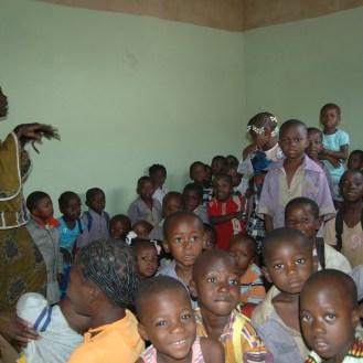 L'éducation est une priorité au Centre Solifaso à Ouagadougou