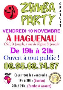ZUMBA PARTY À HAGUENAU