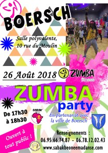 ZUMBA PARTY À BOERSCH