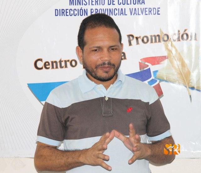 Carlos Reyes Director Centro para la Promocion de la Lectura y la Escritura.