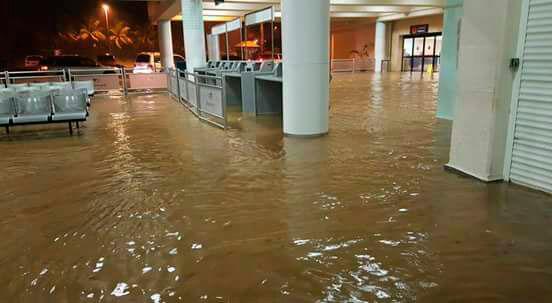 Puerto Plata sigue en estado de emergencia. (Foto: CLAB).