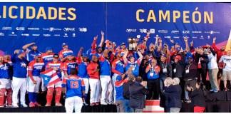 Puerto Rico campeón por segundo año consecutivo.