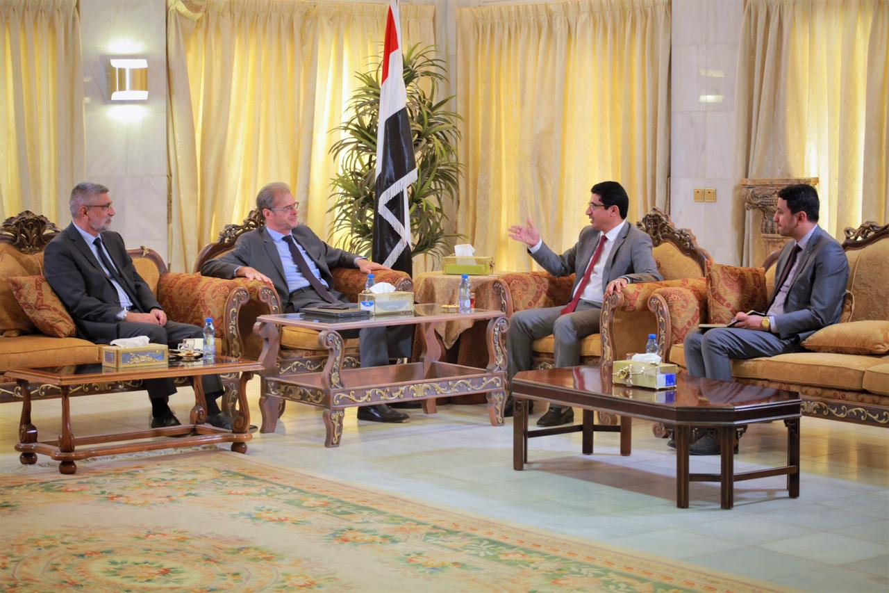 وكيل وزارة الخارجية يبحث مع السفير الفرنسي سبل تعزيز وتطوير العلاقات الثنائية