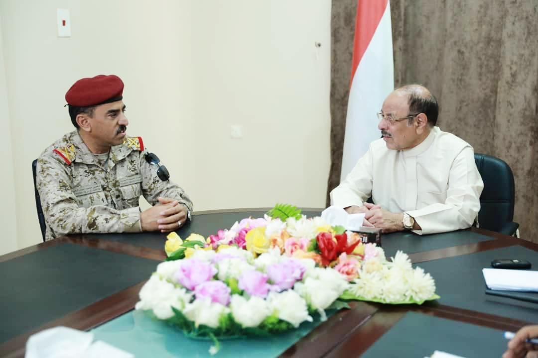 نائب رئيس الجمهورية يطلع على أوضاع المنطقة العسكرية السابعة