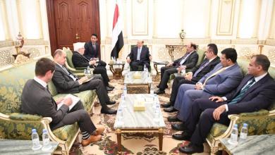 رئيس الجمهورية يستقبل المبعوث الخاص للأمين العام للأمم المتحدة إلى اليمن