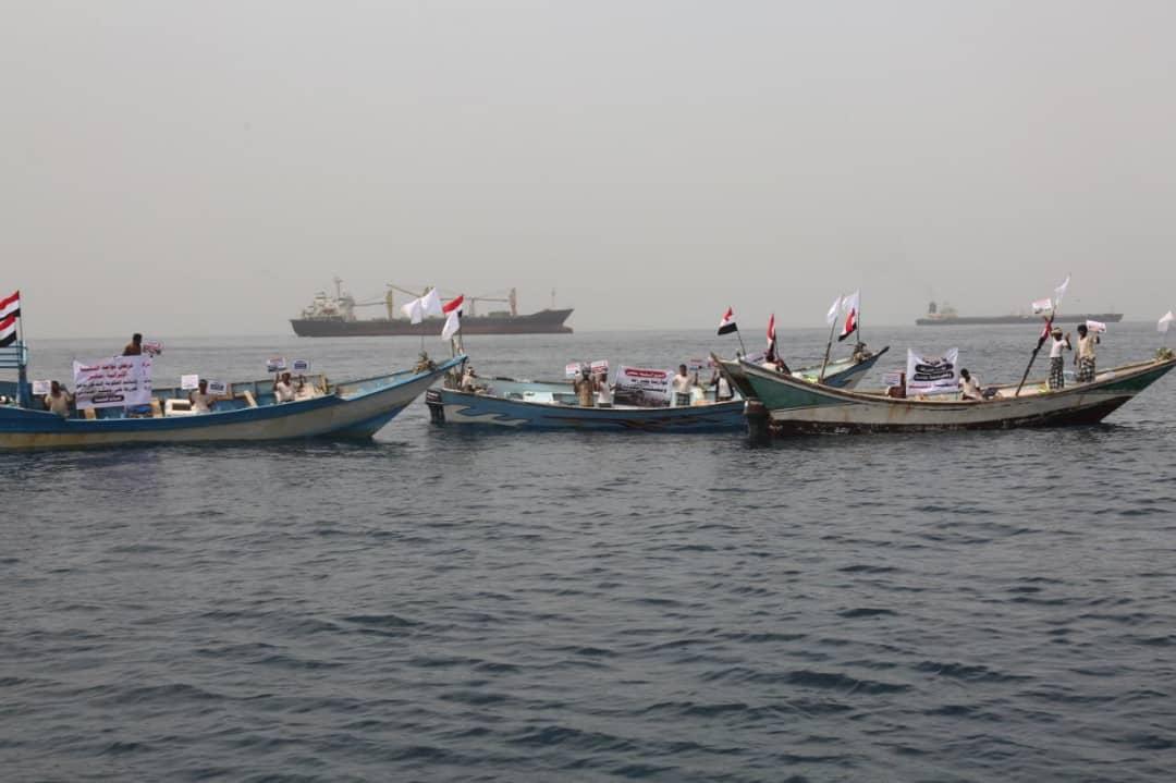 """صيادون يمنيون يجددون رفضهم لتواجد السفينة الإيرانية المشبوهة """"سافيز """" بالمياه الإقليمية"""