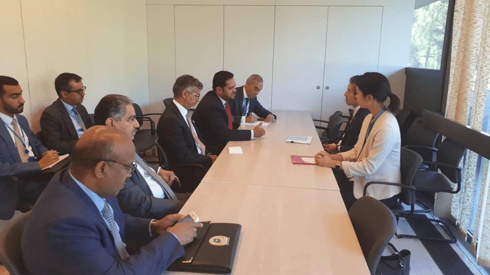 Photo of اليمن تطلب من اليابان وبنجلاديش رفض تسييس ملف حقوق الانسان