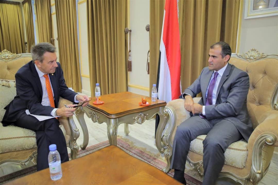 Photo of وزير الخارجية يلتقي رئيس اللجنة الدولية للصليب الأحمر