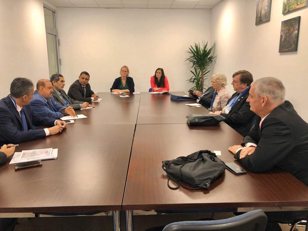 Photo of رئيس مجلس النواب يبحث مع البرلمان البريطاني تعزيز العلاقات الثنائية