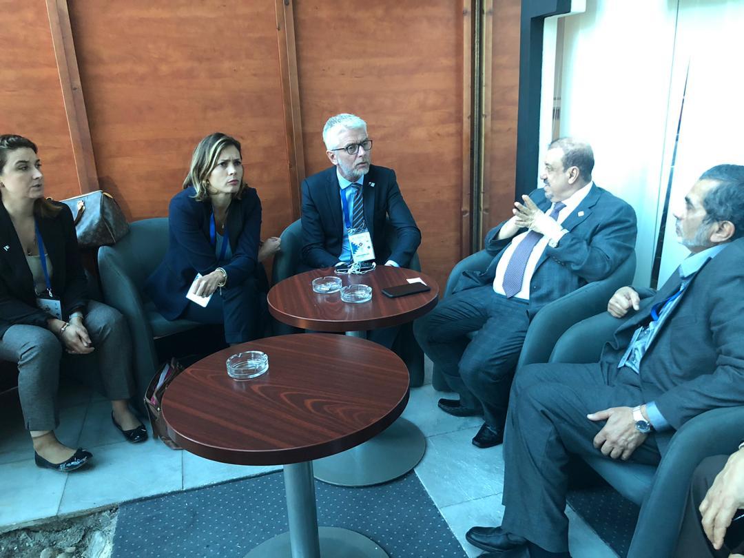 Photo of رئيس مجلس النواب  يستعرض مع رئيس الوفد البرلماني الفرنسي تطورات الأوضاع في بلادنا