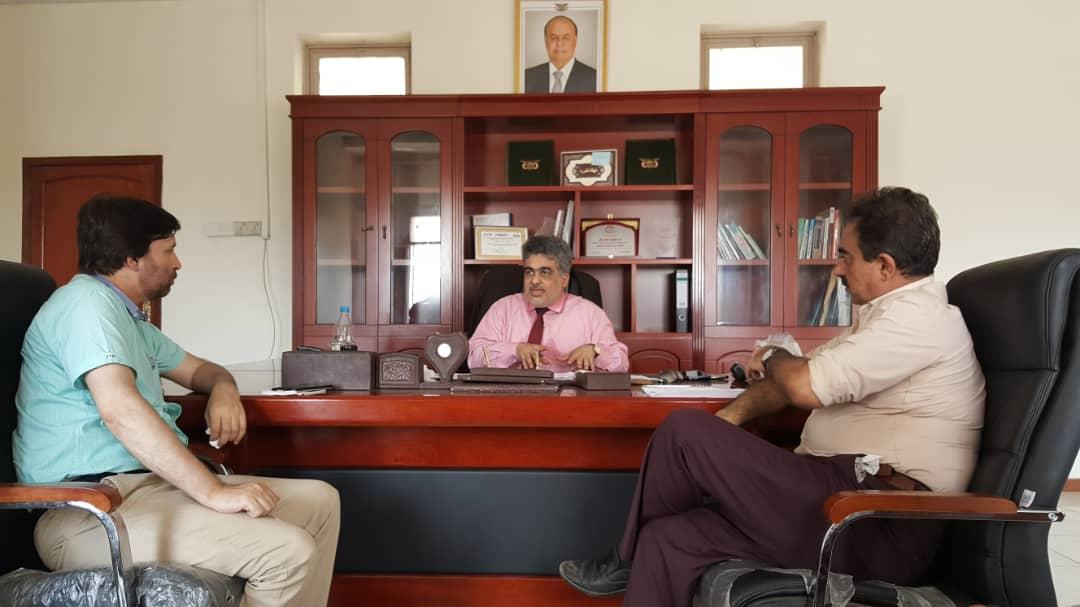 باصهيب يبحث مع رؤساء بعثات دولية تنفيذ مشاريعها في اليمن