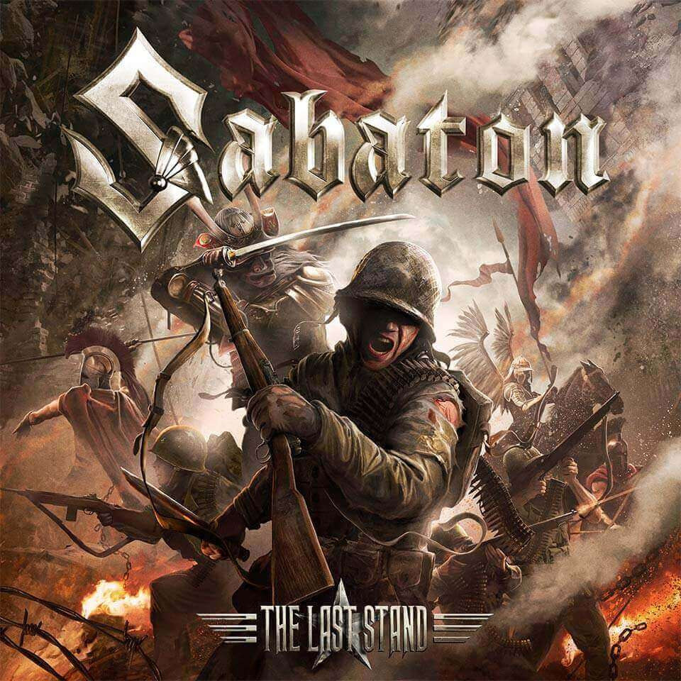 Sabaton - The Last Stand - Album artwork 2016