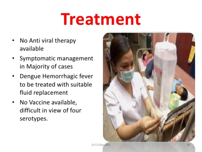 treatment of dengue fever image