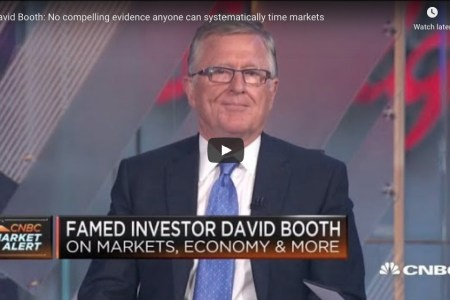 David Booth: No compelling evidence anyone can systematically time markets