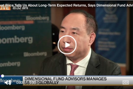 Market Price Tells Us About Long-Term Expected Returns, Says Dimensional Fund Advisors