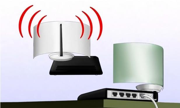 colocacion reflector lata antena router