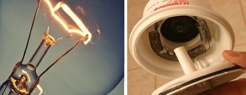 Lâmpadas incandescentes e a resistência do chuveiro elétrico